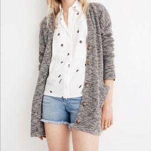 Madewell Alton Cardigan Sweater Small